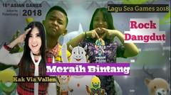 Meraih Bintang Via Vallen _ Song Asian Games 2018 Rock Dangdut