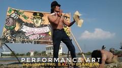 Solidaritas Bagi Petambak Proyek Disposal Banjir Kanal Timur, Sebuah Performance