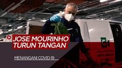 Cara Jose Mourinho dan Tottenham Hotspur Membantu Penanganan Covid-19