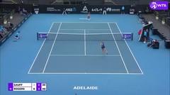 Match Highlights | Coco Gauff 2 vs 1 Shelby Rogers | WTA Adelaide International 2021