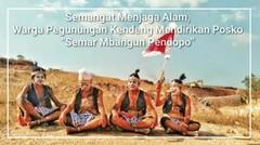 """Semangat Menjaga Alam, Warga Pegunungan Kendeng Mendirikan Posko """"Semar Mbangun Pendopo"""""""