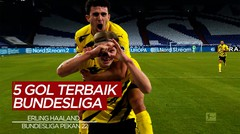 Cek Torehan dari Pemain Borussia Dortmund, Erling Haaland dan 4 Gol Terbaik Bundesliga Pekan 22