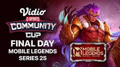 Mobile Legends Series 25 - FINAL DAY