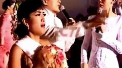 Suasana Lempar Bunga Pada Resepsi Raffi Ahmad Dan Nagita Slavina Di Bali