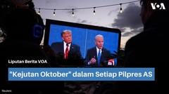 """Kejutan Oktober"" dalam Setiap Pilpres AS"