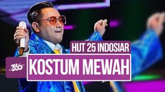 Celeb Update! Nuansa Blink-blink Meriahkan Kostum Nassar | HUT 25 Indosiar