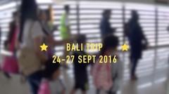 Short trip to Bali