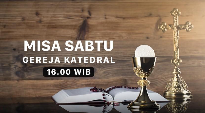 Misa Sabtu - Katedral Jakarta cover