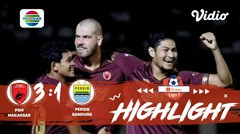 Full Highlight - PSM Makassar 0 vs 0 Persib Bandung | Shopee Liga 1 2019/2020