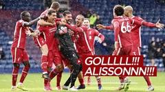 Ini Reaksi Gokil Komentator Brasil Saat Alisson Becker Cetak Gol untuk Liverpool