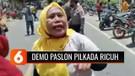 Pasangan Calon Bupati Dompu Tak Diloloskan KPU, Massa Pendukung Bentrok dengan Polisi