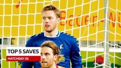 5 Saves Terbaik Bundesliga Pekan 26, Lihat Aksi Kiper Eintracht-Frankfrut, Kevin Trapp
