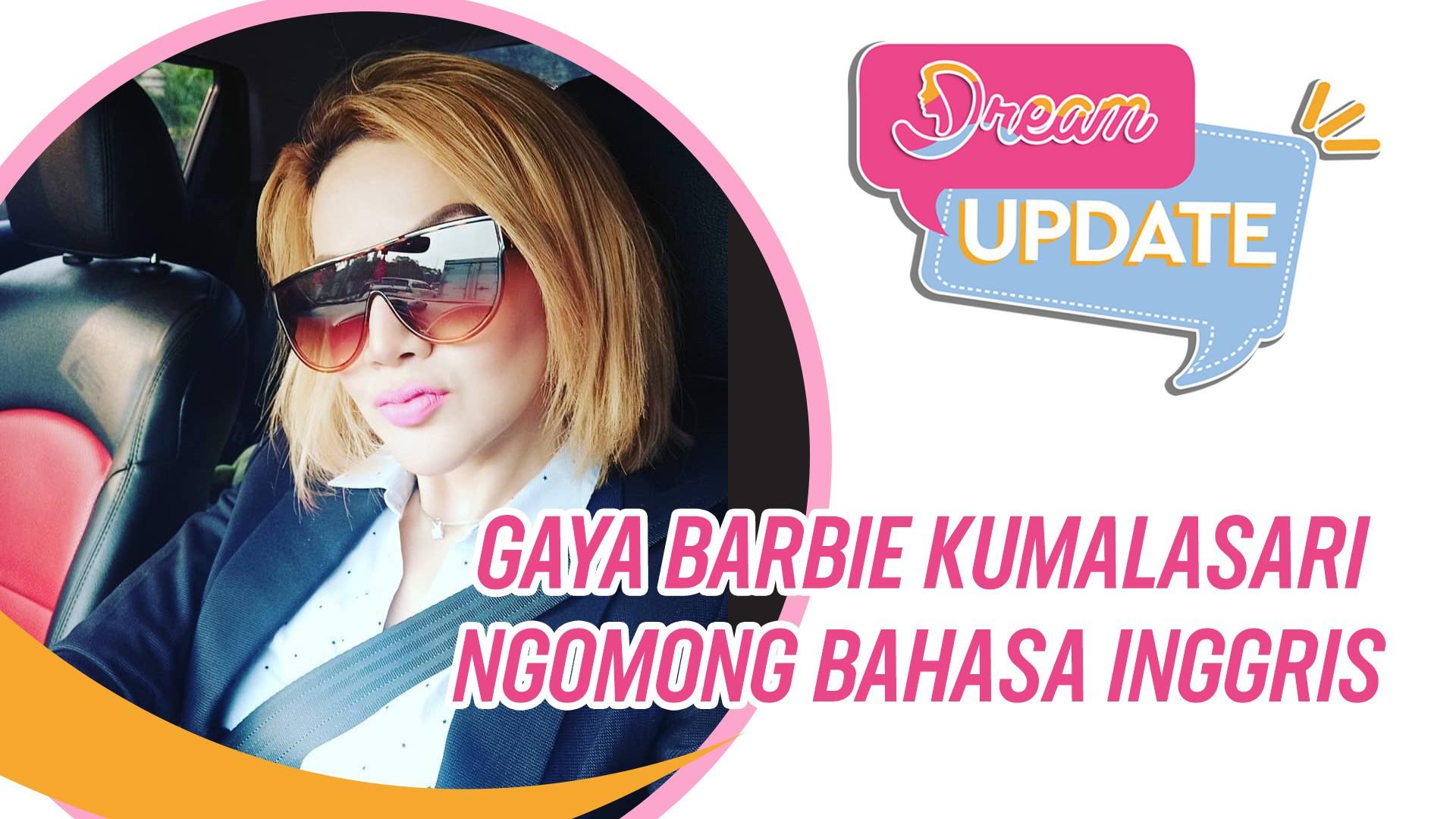Kocak Abis Gaya Barbie Kumalasari Ngomong Bahasa Inggris