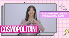 SEJEONG Greets Her Fans in Indonesia