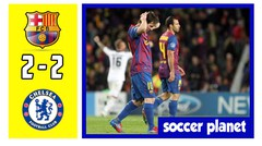 Jelang Laga Barca vs Chelsea 2018, Flashback Barcelona vs Chelsea 25 April 2012
