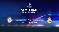 Chelsea vs Real Madrid Semi Final I UEFA Champions League 2020/21