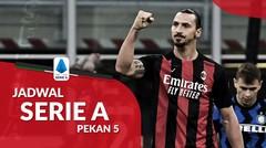 Jadwal Liga Italia Pekan 5, AC Milan Menjamu AS Roma di San Siro