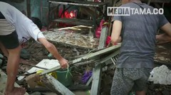 Detik detik Banjir Bandang Terjang Warung dan Kios di Kudus
