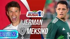 Gol Full Time german vs meksiko 0 - 1  Di Piala Dunia 2018