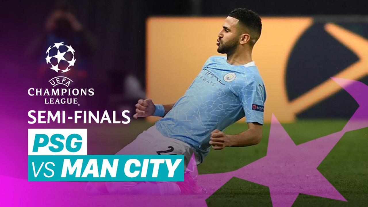 Streaming Mini Match - PSG vs Man City I UEFA Champions League 2020/2021