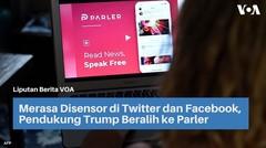 Merasa Disensor di Twitter dan Facebook, Pendukung Trump Beralih ke Parler