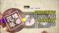 [KSTYLE TV] Unbox 2015 BTS LIVE Konser DVD