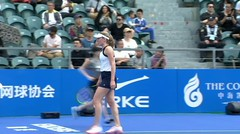 Match Highlight | Garbine Muguruza 0 vs 2 Ekaterina Alexandrova | WTA Shenzhen International 2020