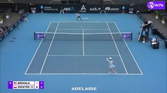 Match Highlights | Iga Swiatek 2 vs 0 Madison Brengle | WTA Adelaide International 2021