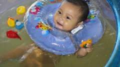 kolam bak mandi bayi lucu - baby spa