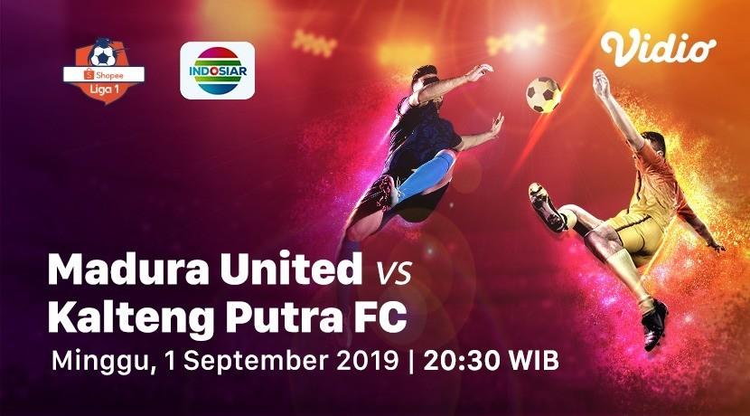 Live Streaming Madura United Vs Pss Sleman Shopee Liga 1