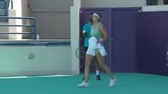 Match Highlight   Aryna Sabalenka 2 vs 0 Maria Sakkari   WTA Abu Dhabi Open 2021