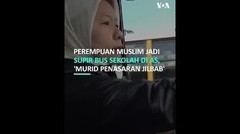 Perempuan Muslim Indonesia Lakoni Profesi Supir Bus Sekolah di AS