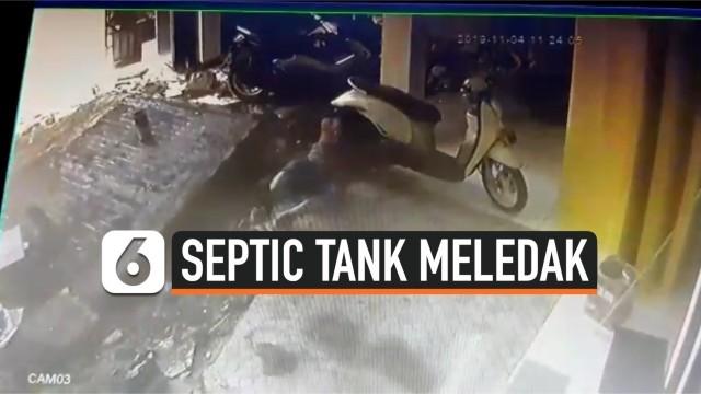Septic Tank Meledak di Cakung, Satu Orang Tewas