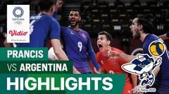 Highlights | Bola Voli Putra | Semifinal - Prancis 3 vs 0 Argentina | Olimpiade Tokyo 2020