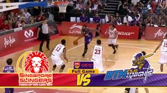 Full Games Singapore Slingers VS BTN CLS Knights Indonesia (Final Game 5) ABL 2018-2019