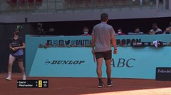 Match Highlights | Cristian Garin 2 vs 1 Daniil Medvedev | Mutua Madrid Open 2021