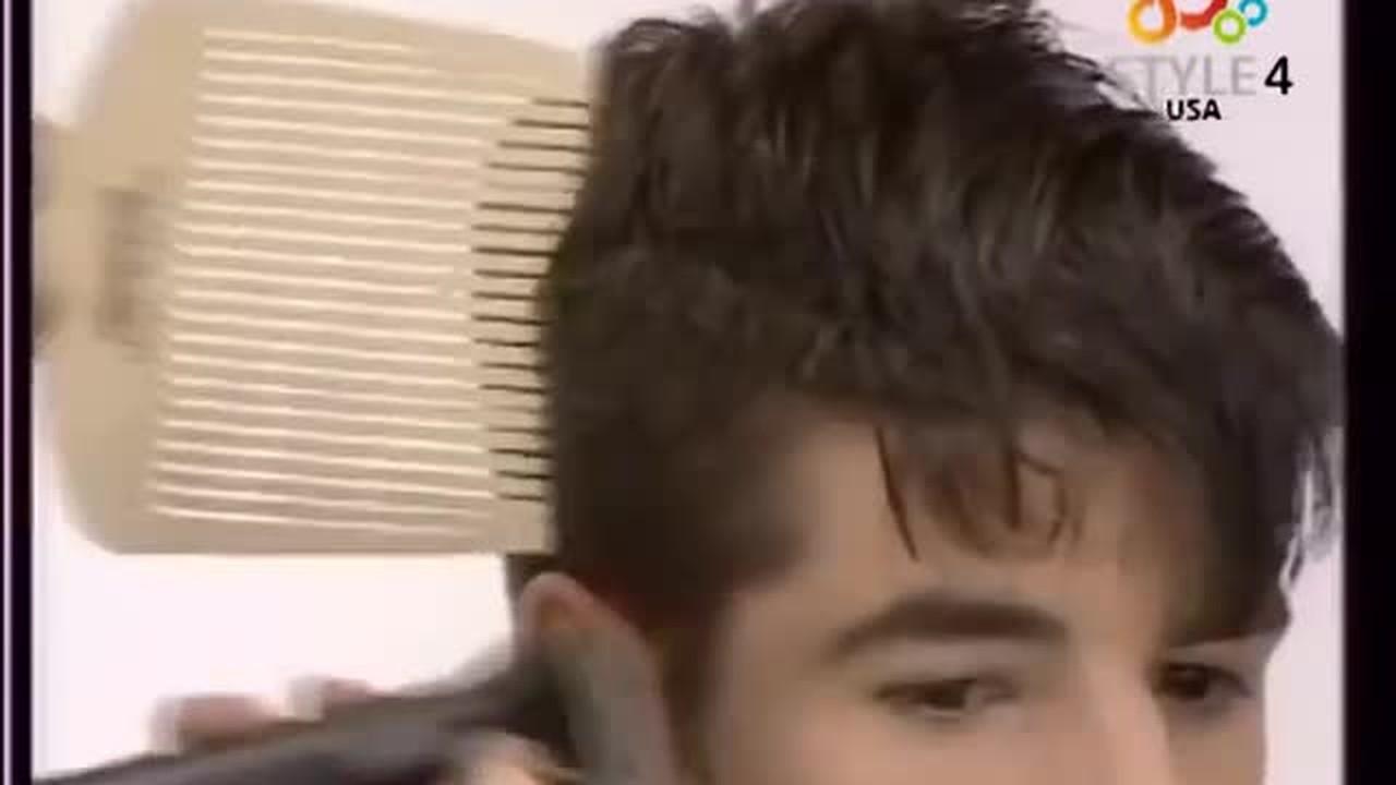 Streaming Gaya Rambut Pendek Pria Dengan Jambul Vidio