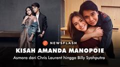Kisah asmara Amanda Manopo, dari Chris Laurent hingga Billy Syahputra
