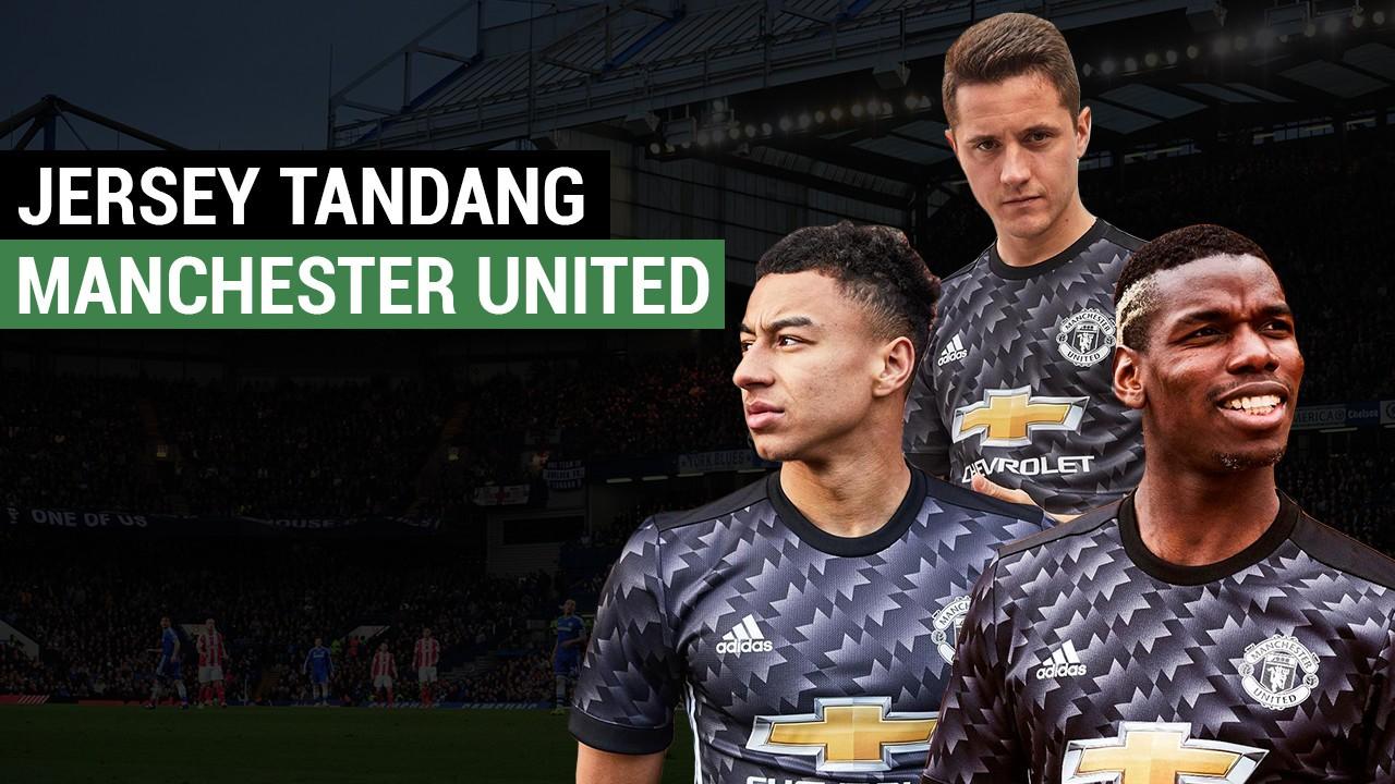 Ini Jersey Tandang Manchester United Musim Depan