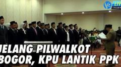 Jelang Pilwalkot Bogor, KPU Lantik PPK