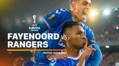Full Highlight - Feyenoord vs Rangers | UEFA Europa League 2019/20