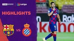 Match Highlight | Barcelona 1 vs 0 Espanyol | La Liga 2020