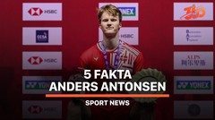 5 Fakta Anders Antonsen