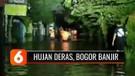 Banjir Melanda Permukiman di Bogor hingga Satu Meter, Warga Mengungsi