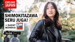 ADA APA DI SHIMOKITAZAWA? NEMU BOBA SUPER ENAK! - Vlog Part 2