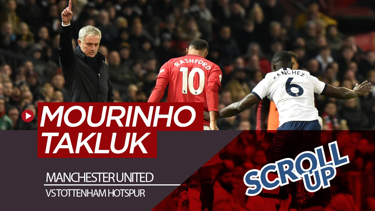 Jose Mourinho Takluk Dari Manchester United