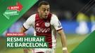 Bursa Transfer: Barcelona Resmi Datangkan Pemain Ajax Amsterdam, Sergino Dest