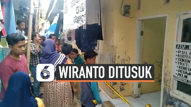 Suami Istri Penusuk Wiranto Tertutup dengan Lingkungannya