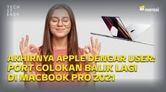 MacBook Pro 2021: Akhirnya Apple Mendengar User, Port Colokan adalah Kunci!
