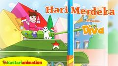 Hari Merdeka | Lagu Anak Indonesia bersama Diva | Kastari Animation